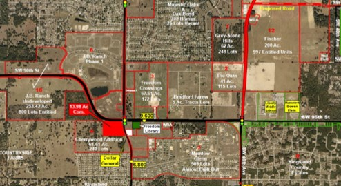 Superb Shopping Center Site – 13.98 Acres